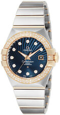 123.25.31.20.53.001 | OMEGA CONSTELLATION | BRAND NEW 27MM DIAMOND WOMEN'S WATCH