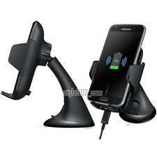 SAMSUNG Wireless QI Charging Vehicle Dock Car Cradle For Galaxy S6 edge S7 Note5