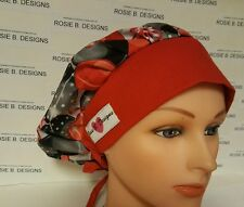 CHRISTMAS ORNAMENTS  /BOUFFANT / SCRUB / MEDICAL SURGICAL PONYTAIL / CAP