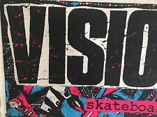 Old School Vision Skateboards Banner Poster Original Huge Gator