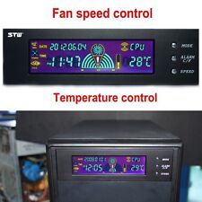 "5.25"" LCD Panel Temperature Controller with Fan Speed Control CPU Cooling system"