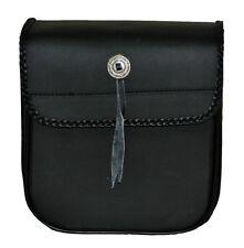 Braid Accented Sissy Bar Bag