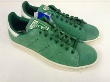 adidas Originals Stan Smith 80s Green Suede Vintage Rare UK 8