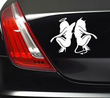 ANGEL AND DEVIL STICKER Car Bumper Van Window Laptop JDM VINYL DECALS STICKERS