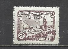 8198A--mnh** SELLO 200 PTS  FISCAL MARINA CIVIL MUTUALIDAD DE ACCIDENTES DEL MAR