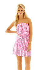 Lilly Pulitzer Windsor Dress Tropical Pink Zebron RT$98 SIZE XL NWT