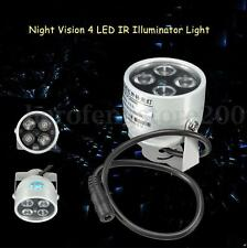 4*LED Infrared Night vision IR Light illuminator lamp for IP CCTV CCD Camera NEW