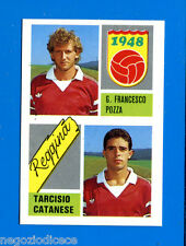 CALCIO 89 Euroflash Figurina-Sticker n. 408 - POZZA-CATANESE -REGGINA-New