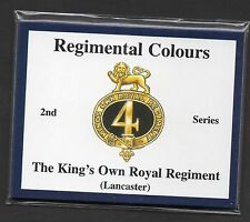 Kings Own Royal Regiment Lancaster 2nd Series of Trade Cards Sent Post Free