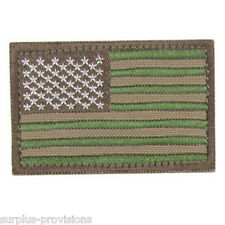 "Condor - American Flag Patch - 2"" x 3""inch Multicam with Velcro Back"