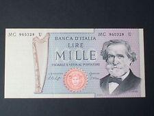 BANCONOTA LIRE 1000 VERDI 10-01-1977 FIOR DI STAMPA