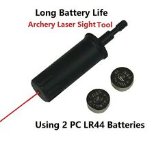 Archery Crossbow Bow Arrow Red Laser Sight Sighting Tool Boresighter Bore Sight