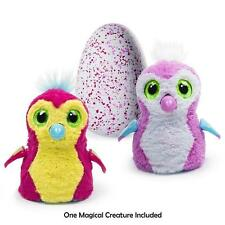RARE EXCLUSIVE HATCHIMALS PENGUALAS EGG TOY 2016 SPIN MASTER PINK YELLOW WHITE