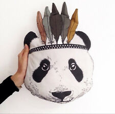 Baby Kid Stuffed Toy Pillow Bed Sofa Decorative Indian Panda Doll Cushion Gift