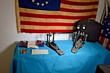 Pearl P-2002C Eliminator PowerShifter double bass drum Pedal & Case (kick/twin)