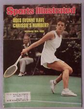 Evonne Goolagong 1976 Sports Illustrated 4/26/71
