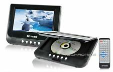 "XO VISION 7"" SCREEN DVD MP3 PLAYER USB SD CARD CAR AUDIO STEREO PORTABLE MONITOR"