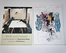 YOSHITOMO NARA STUDIO 2 BOOKS LITTLE MORE Zine Art  kaws banksy mr brainwash mbw