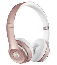 Beats by Dr Dre Solo2 Wireless On Ear Headphones - Limited Edition Rose Gold NEW