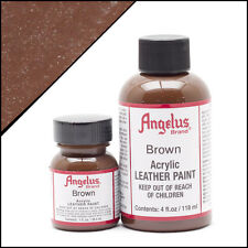 Angelus Acrylic Leather Paint for Shoes / Sneakers - Brown - 1oz