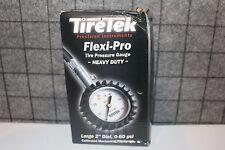 TireTek Flexi-Pro Heavy Duty Tire Pressure Gauge
