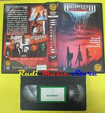 VHS film HALLOWEEN III Il signore della notte 1996 SKORPION A/71 (F23) no dvd