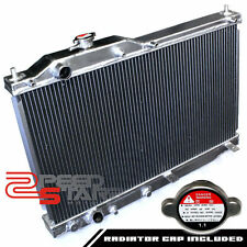 HONDA S2000 AP1 F20C MANUAL TWO/DUAL ROW/CORE ALUMINUM CHROME RACING RADIATOR