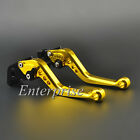 Motorcycle Short CNC Brake Clutch Levers For Honda CBR250R 2011-2013 2012 Gold