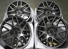 "18"" GM DARE X2 ALLOY WHEELS FIT VAUXHALL ASTRA CORSA MERIVA SIGNUM VECTRA ZAFIRA"