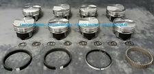 Chevy 7.4/454 Silvolite Hypereutectic 30cc Dome Pistons+MOLY Rings Kit +.030""