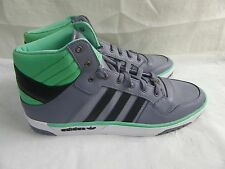 New! Mens Adidas Post Player Vulc US Sneakers  G99479 Size 10.5 GrayGreen  31E