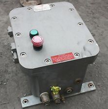 Govan Type 22 Flame proof motor starter switch board Enclosure