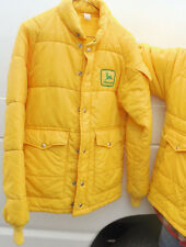 old Vtg euc 1970s John Deere Puffer Jacket farmer tractor coat snowmobile winter