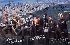 CSI NY NEW YORK CAST OF 8 AUTOGRAPH SIGNED PP PHOTO POSTER