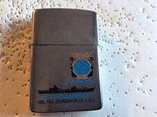 ZIPPO LIGHTER DUTCH MARINE SHIP ZUIDERKRUIS A832