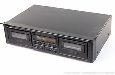 ONKYO R1 Auto-Reverse Dual Stereo Cassette Deck TA-RW111 TESTED WORKING