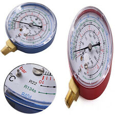 A/C PRESSURE GAUGE LOW HIGH FOR REFRIGERANT R134A/R404A/R22 DEGREE CELSIUS SCALE