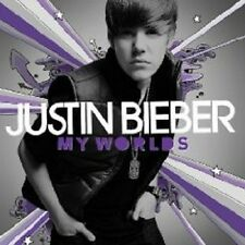 "JUSTIN BIEBER ""MY WORLDS"" CD NEU"