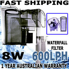 Biopro Aqua Aquarium Fish Tank Hang On Waterfall Water Filter 600 L/H External