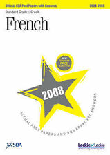SQA French Standard Grade (Credit) SQA Past Papers 2008 Very Good Book