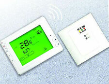 Termostato programmabile wireless con ricevitore per Gas Bolier elettrico/acqua
