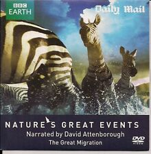 DAVID ATTENBOROUGH BBC EARTH NATURE'S GREAT EVENTS THE GREAT MIGRATION DVD