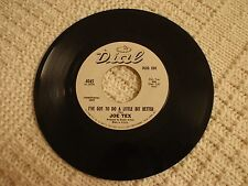 JOE TEX  I'VE GOT TO DO A LITTLE BIT BETTER/WHAT IN THE WORLD DIAL 4045 PROMO