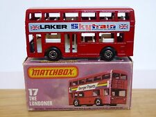 Matchbox Lesney No.17g The Londoner Leyland Titan Bus Type 'K' Box (MINT MODEL!)