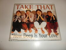 CD  Take That  ‎–  How Deep Is Your Love