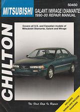 1990-2000 Chilton Mistubishi Galant, Mirage & Diamante Repair Manual