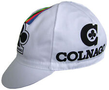 COLNAGO RETRO CYCLING BIKE CAP - Vintage - Fixed Gear - Made in Italy