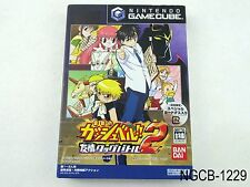Zatch Bell Tag Battle 2  Nintendo Gamecube Japanese Import Gash GC US Seller B