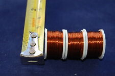 3 x Spool of Copper Wire 0.21mm Thick ,FLY TYING , FLY FISHING, Fly dressing