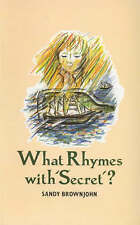 What Rhymes with Secret?: Teaching Children to Write Poetry,GOOD Book